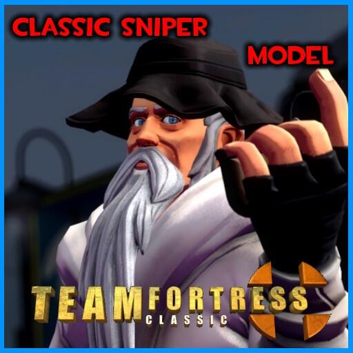 Garry's Mod - Снайпер из Team Fortress Classic