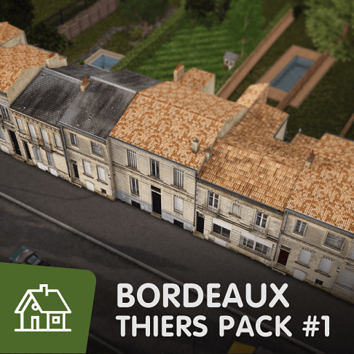 Cities: Skylines - Bordeaux Thiers - Пак#1
