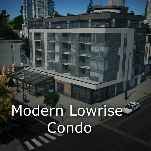 Cities: Skylines - Modern Lowrise Condo