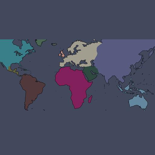 Hearts of Iron IV - Случайное расположение стран