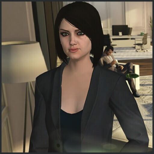 Garry's Mod - Женщина-ассистент из GTA Online