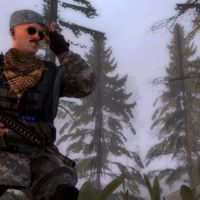 Garry's Mod - Кью из Hunt Down The Freeman