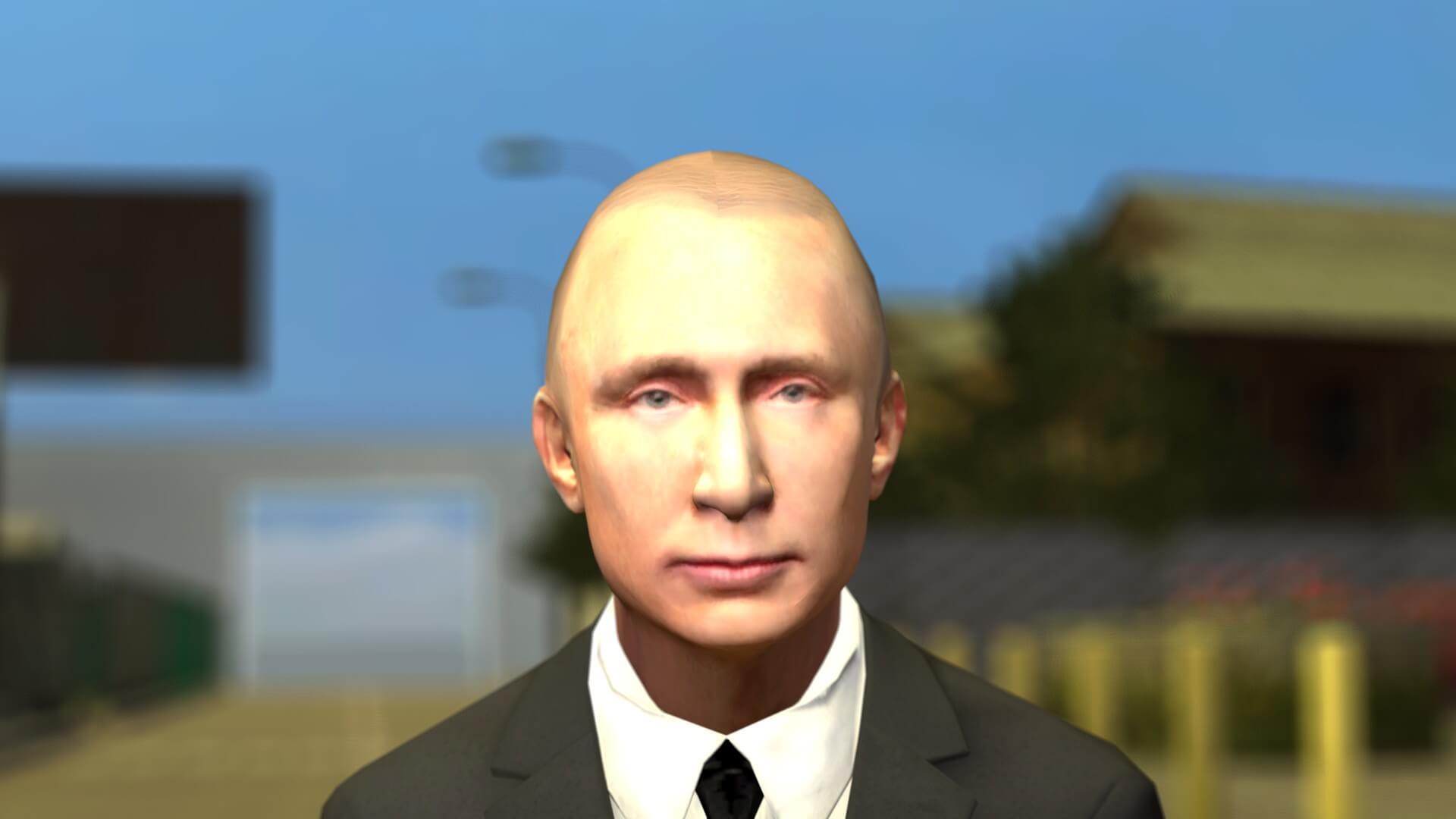 Garry's Mod - Путин (игровая модель)