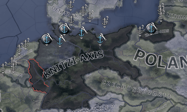 Hearts of Iron IV - The Knitler Mod