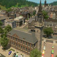 Cities: Skylines - Беффруа Бельгии и Франции