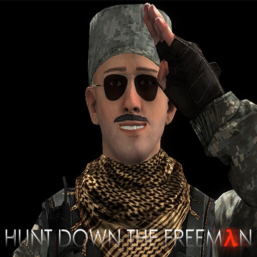 Garry's Mod - Кью из Hunt Down The Freeman