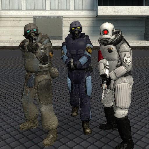 Garry's Mod - Combine pistol animations