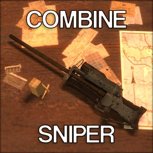 Garry's Mod - Снайперская винтовка комбайнов