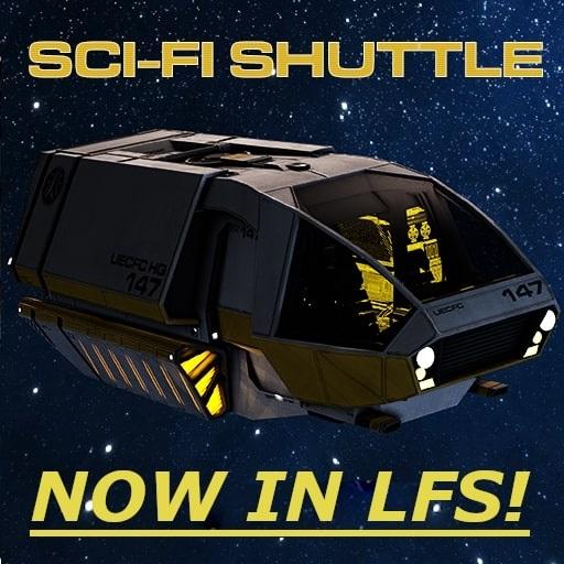 Garry's Mod - Sci-Fi шаттл