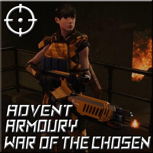 XCOM 2 - Огнемет Адвента - ADVENT Armoury [WotC]