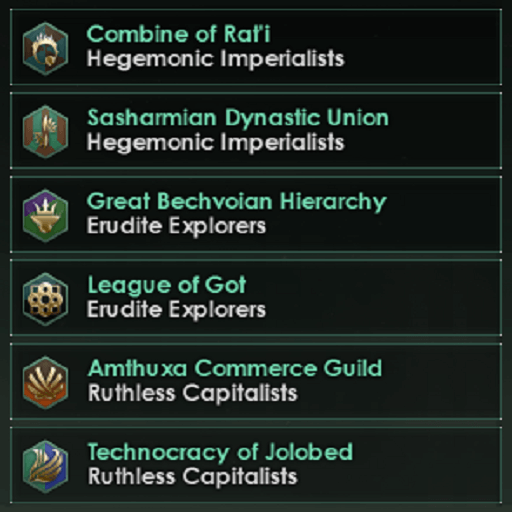 Stellaris - Random Species Names