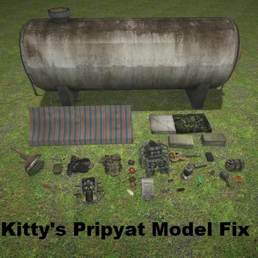 Garry's Mod - Модели из Припяти