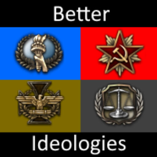 Hearts of Iron IV - Better Ideologies
