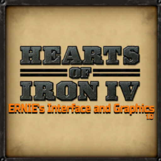 Hearts of Iron IV - ERNIE's Interface and Graphics