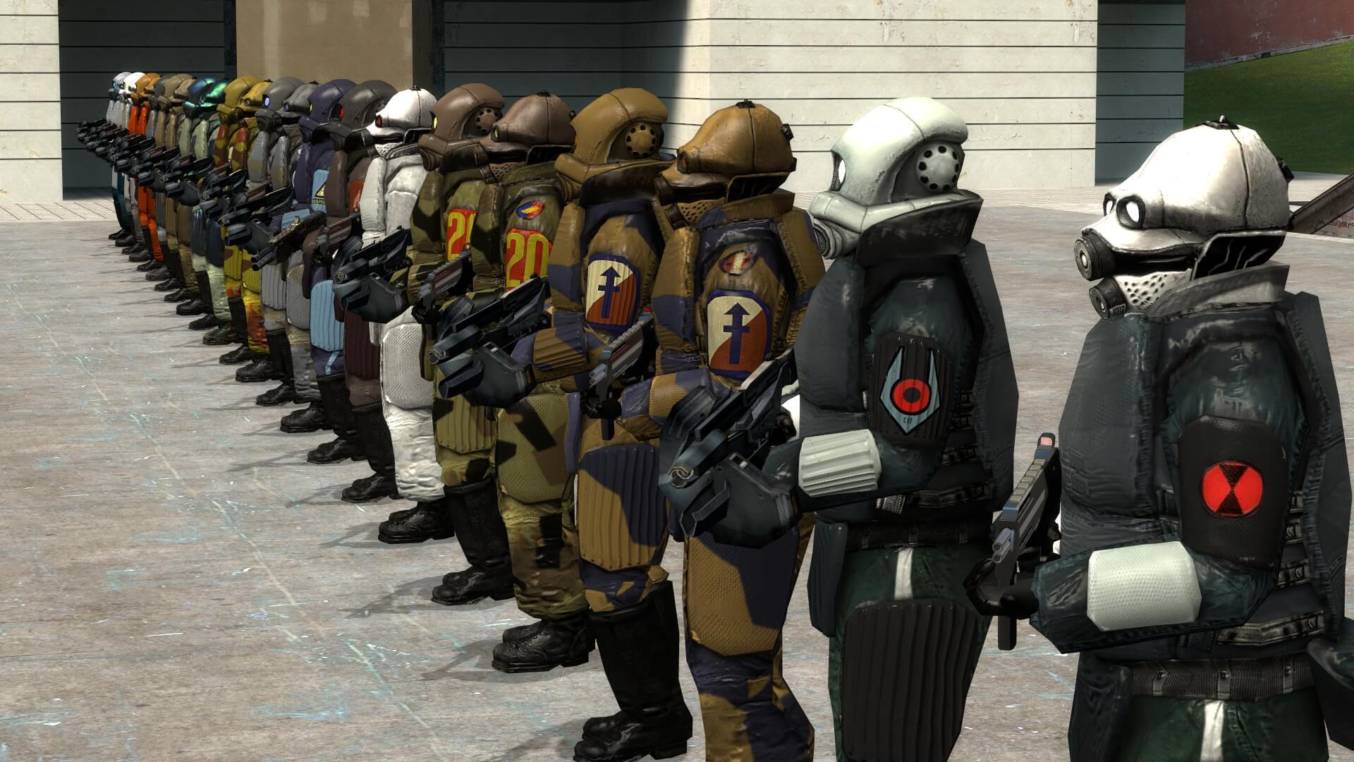 Garry's Mod - Combine Armored PMs and NPCs II
