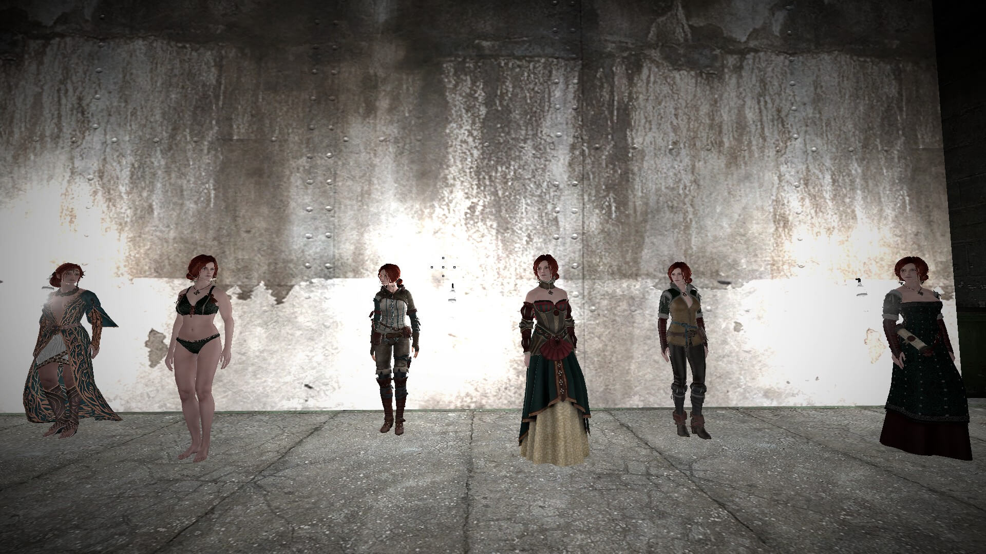 Garry's Mod - Трисс Меригольд из Witcher 3