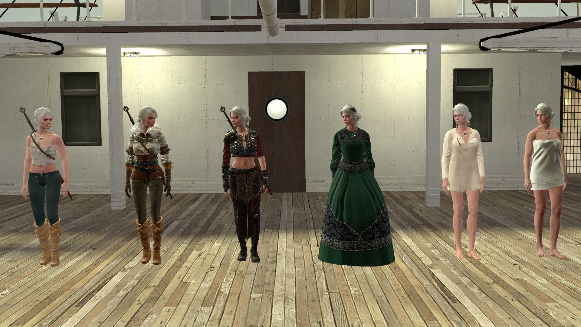 Garry's Mod - Цири из The Witcher 3 (Игровые модели и NPC)