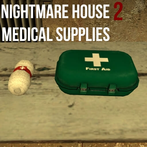 Garry's Mod - Медикаменты из Nightmare House 2