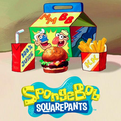 Garry's Mod - Красти Крабс и еда (пак пропов) из Spongebob Squarepants