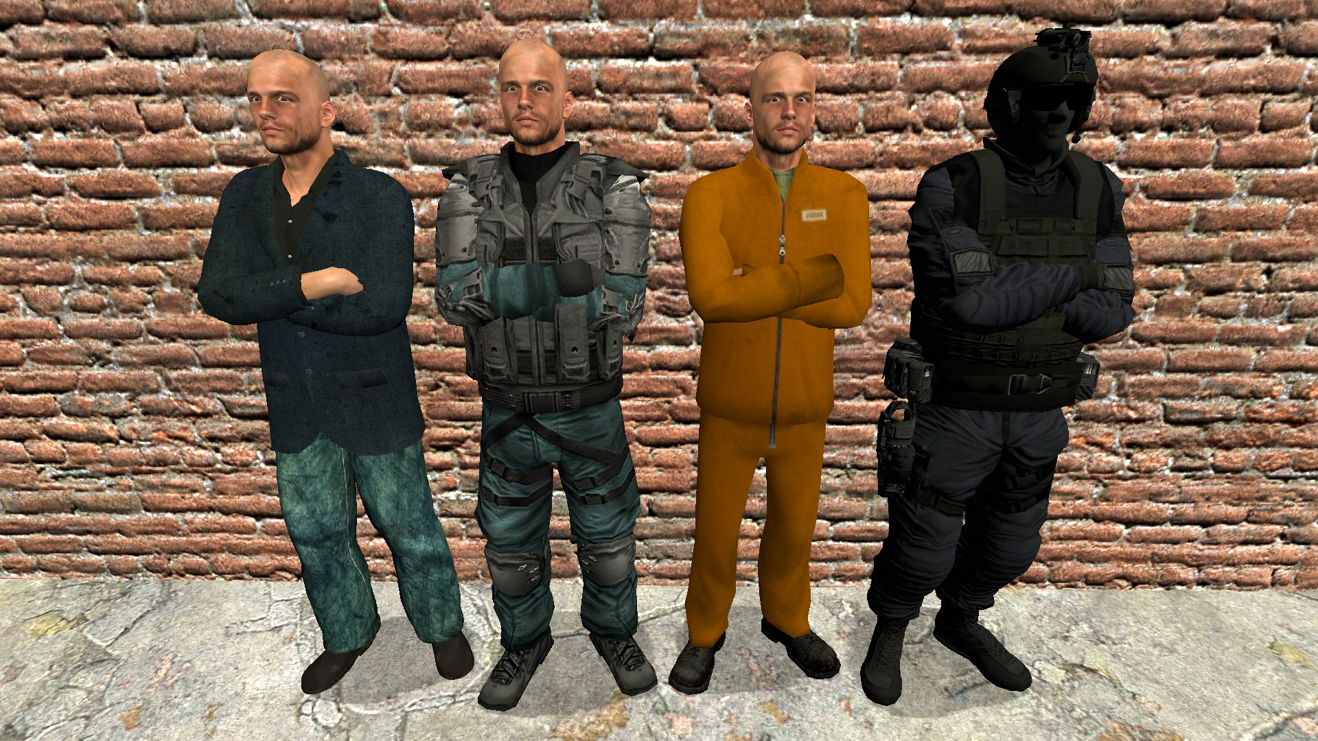 Garry's Mod - Underhell Characters and Misc Stuff