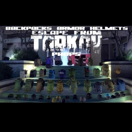 Garry's Mod - Огромный пак снаряжения из Escape From Tarkov (пропы)
