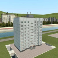 Garry's Mod - Среднерусская многоэтажка