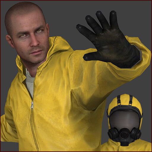 Garry's Mod - Болваны в химзащите из Splinter Cell: Blacklist