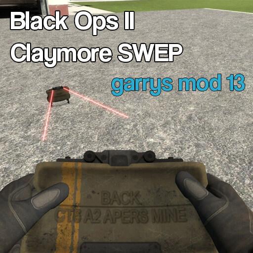Garry's Mod - Клеймор из Black Ops 2 (сэндбокс)