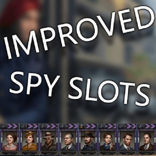 Hearts of Iron IV - Улучшенные слоты и апгрейды для шпионов