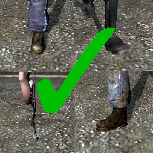 Garry's Mod - Fixed NPC Footsteps