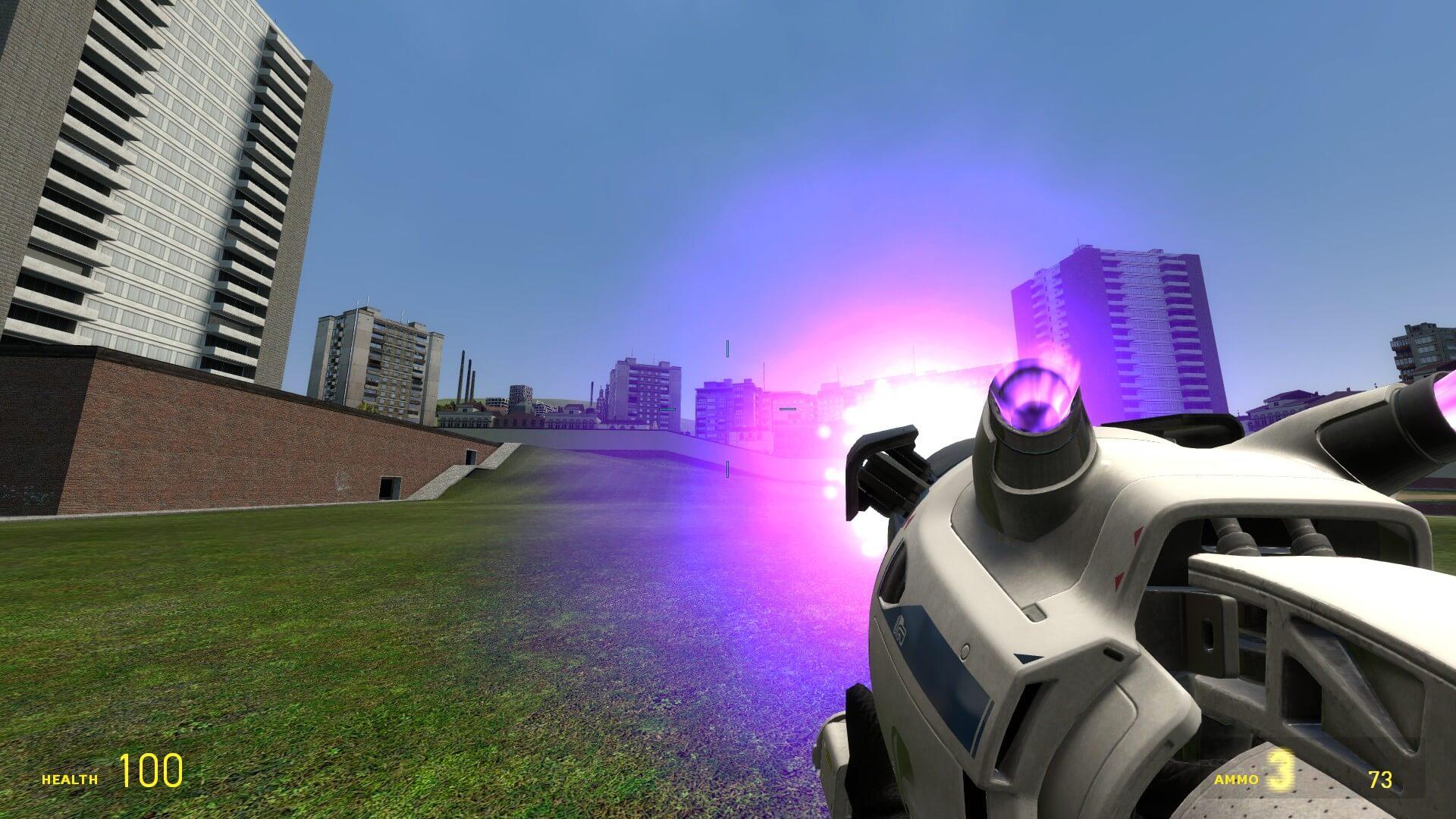 Garry's Mod - Тракторная пушка из Destiny 2 [TFA]