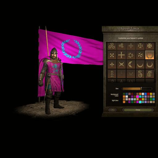Mount & Blade 2: Bannerlord - Улучшенный редактор знамен
