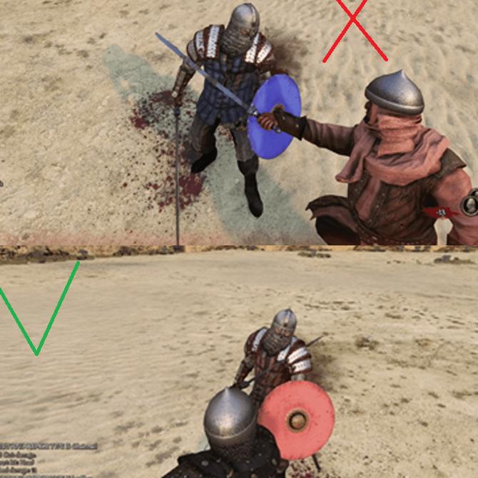 Mount & Blade 2: Bannerlord - Реалистичные коллизии оружия