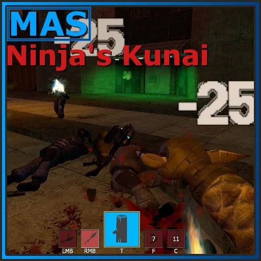 Garry's Mod - [Ability SWEP] Ninja's Kunai