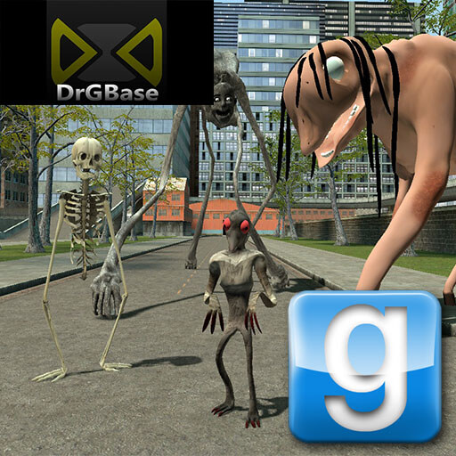 Garry's Mod - Существа Тревора Хендерсона (часть 1) [DrGBase]