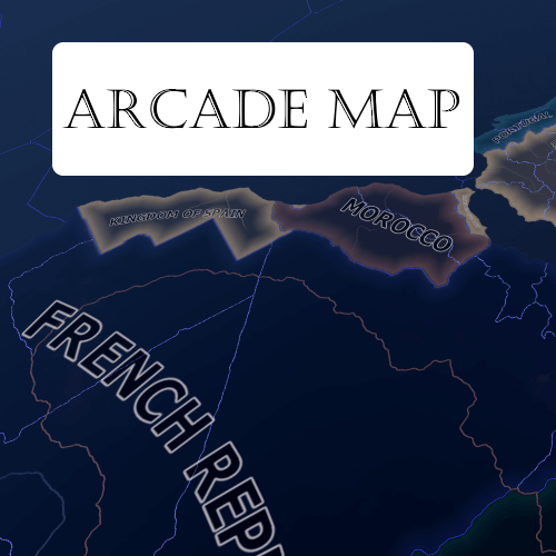 Hearts of Iron IV - Arcade Map Mod