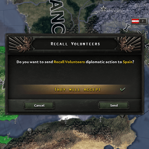 Hearts of Iron IV - Отзыв волонтеров / Recall Volunteers