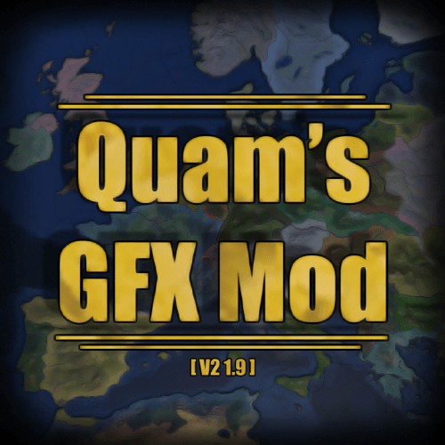 Hearts of Iron IV - Quam's Graphics Mod