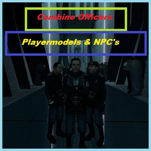 Garry's Mod - Офицеры комбайнов (игровые модели и NPC)