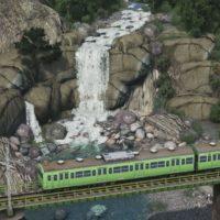 Cities: Skylines - Анимированный водопад
