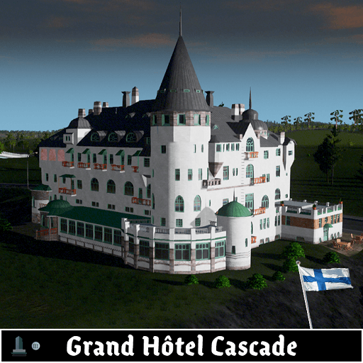 Cities: Skylines - Grand Hôtel Cascade, Иматра