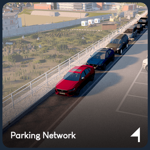 Cities: Skylines - Parking Network
