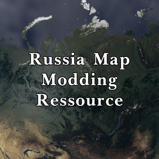 Hearts of Iron IV - Russia Map Ressource