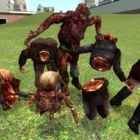 Garry's Mod - Sabrean's Headcrab Zombie Mod Hexed Model Pack