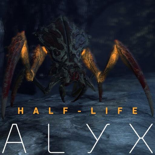 Garry's Mod - Муравьиный лев из Half Life: Alyx