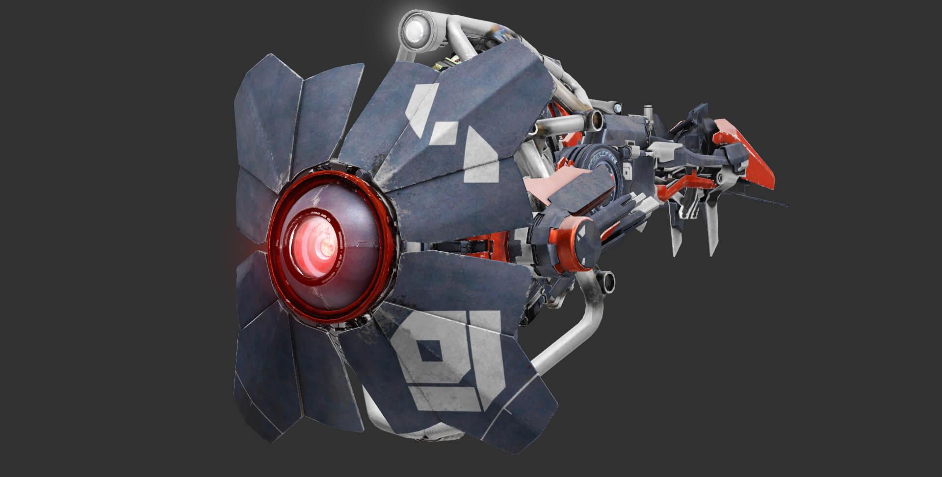 Garry's Mod 13 - Сканер из Half Life: Alyx (замена)