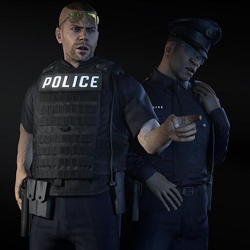 Garry's Mod - Grand Theft Auto V: L.S.P.D. & L.S.S.D. (игровые модели и NPC)